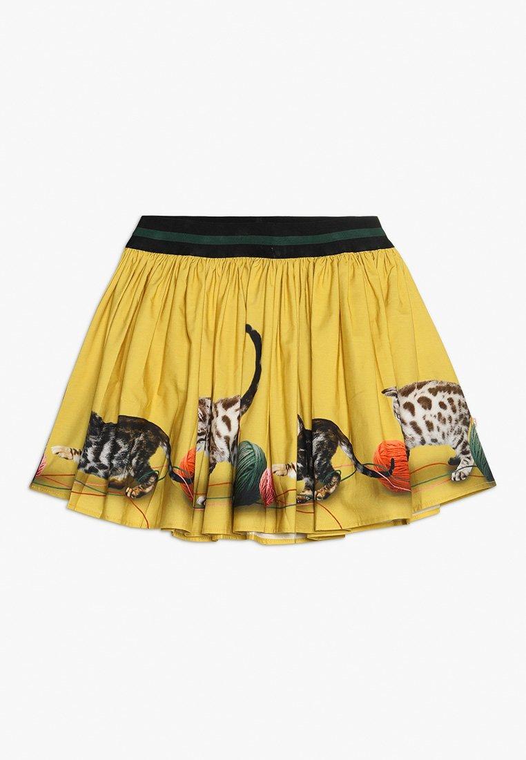 Molo - BRENDA - Áčková sukně - yellow