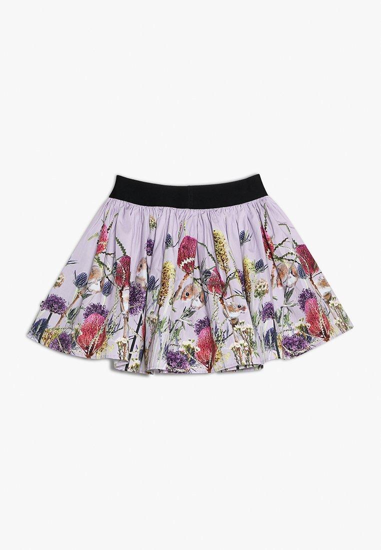 Molo - BRENDA - Áčková sukně - rose