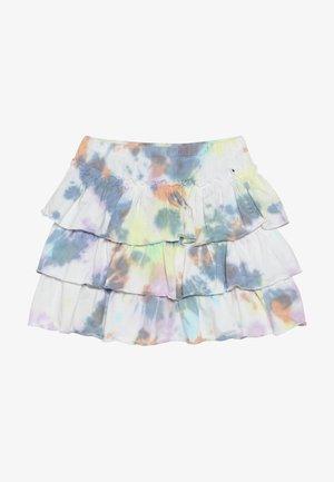 BELL - Áčková sukně - white/multi-coloured