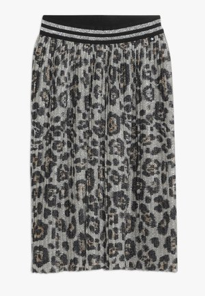 BAILINI - Pleated skirt - silver