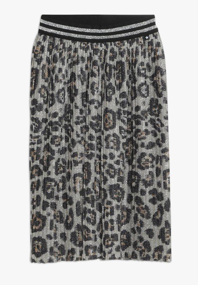 BAILINI - Pliceret nederdel /Nederdele med folder - silver