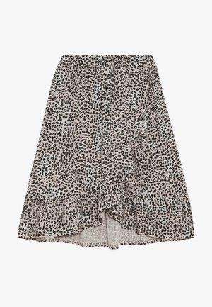 BLONDIE - A-line skirt - light brown