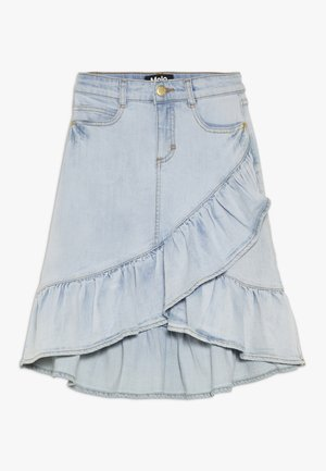 BELINDA - A-line skirt - even pale wash