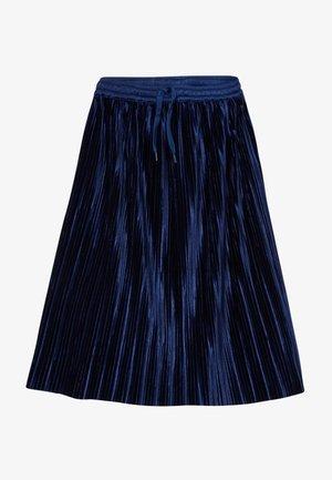 BECKY - A-linjainen hame - ink blue
