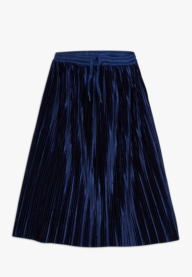 BECKY - A-line skirt - ink blue
