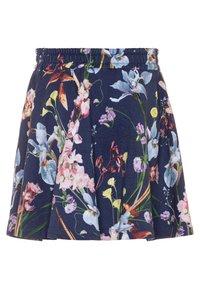 Molo - BARBERA - Áčková sukně - ikebana blue - 1