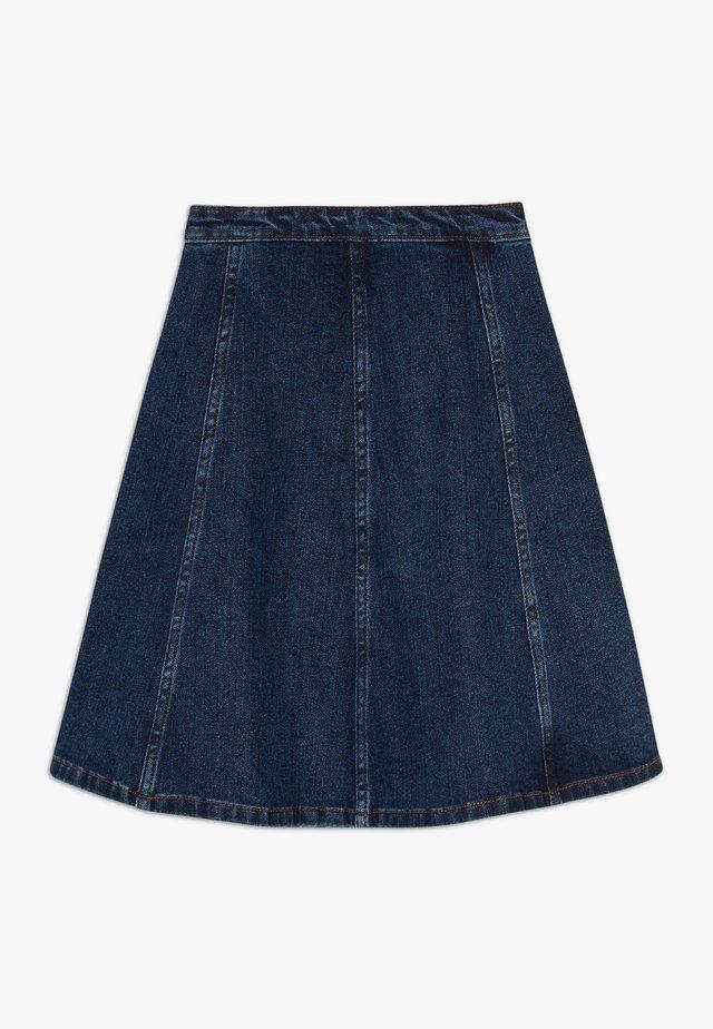 BELLATRIXI - A-line skirt - mid blue