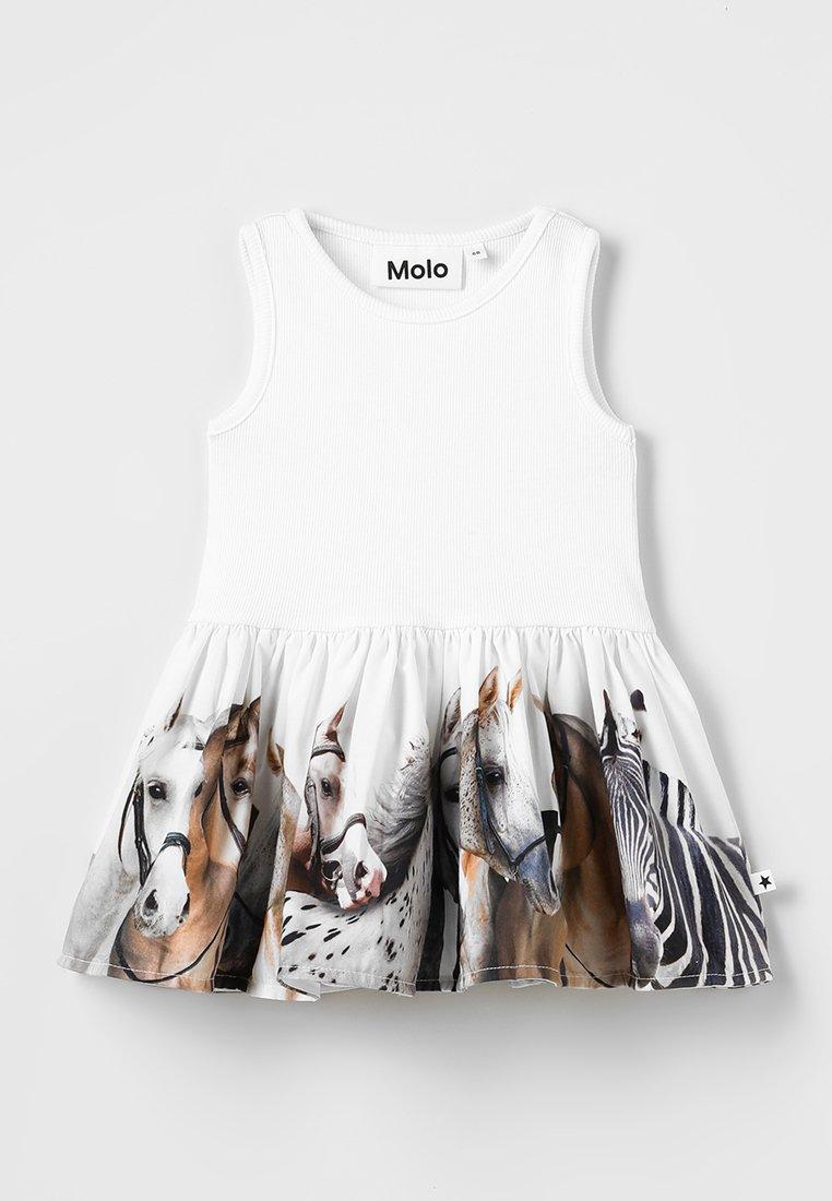 Molo - CORDELIA DRESS BABY - Day dress - white