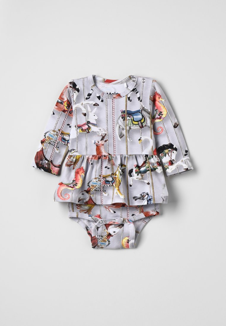 Molo - FRANCES BABYSUITS - Jerseyjurk - grey