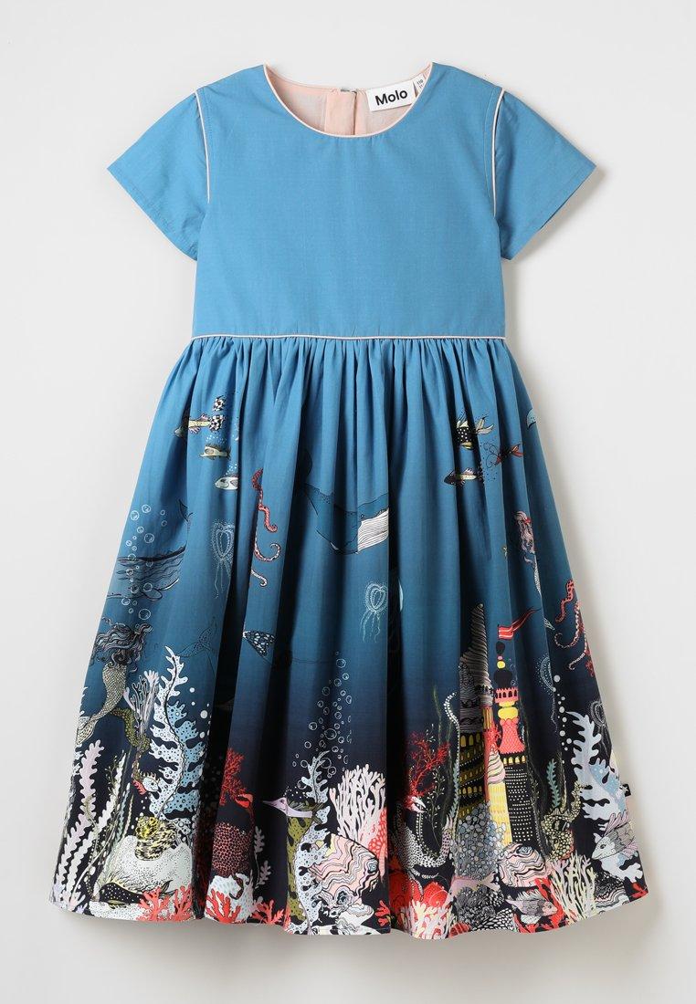 Molo - CARIN - Korte jurk - blue