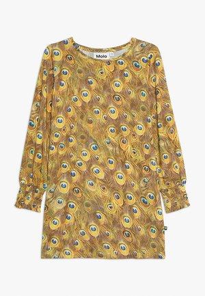 CORELLA - Robe en jersey - yellow