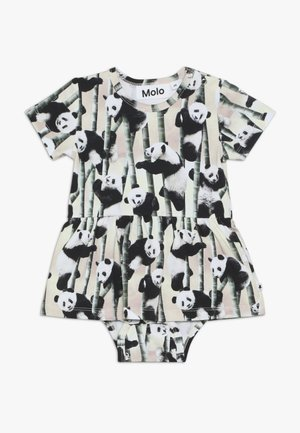 FRANNIE - Jersey dress - yin yang