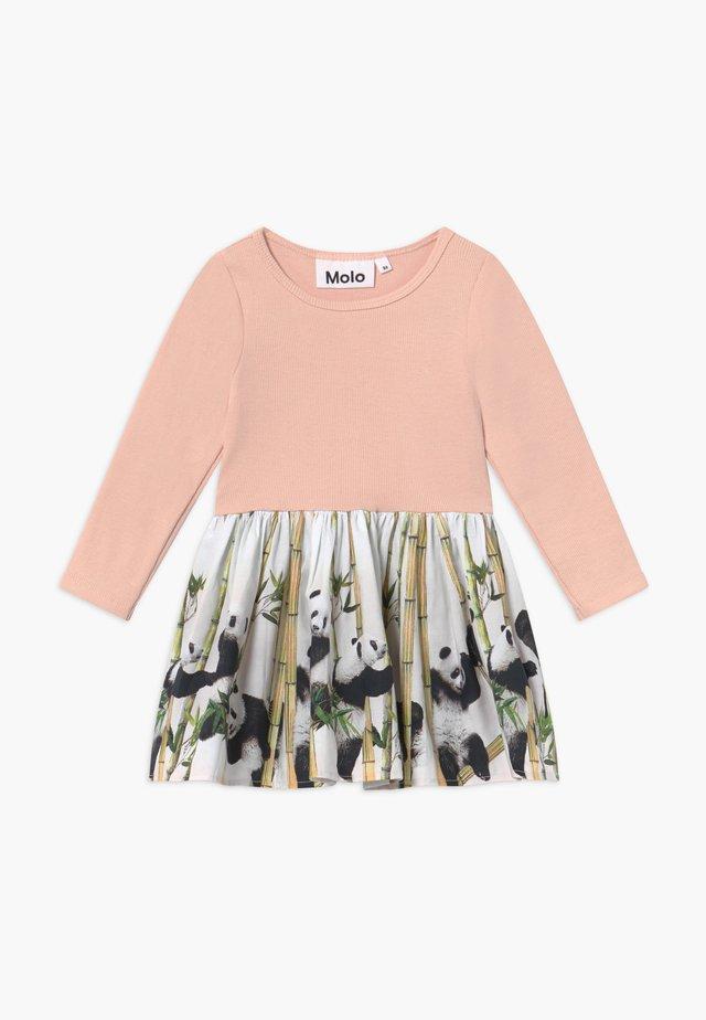 CANDI - Kjole - light pink/multi-coloured