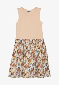 Molo - COLLEEN  - Jersey dress - apricot/multi-coloured - 2