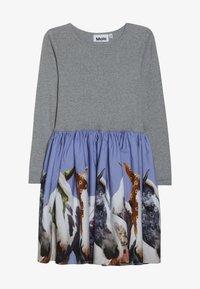 Molo - CASIE - Jersey dress - grey/multi-coloured - 2