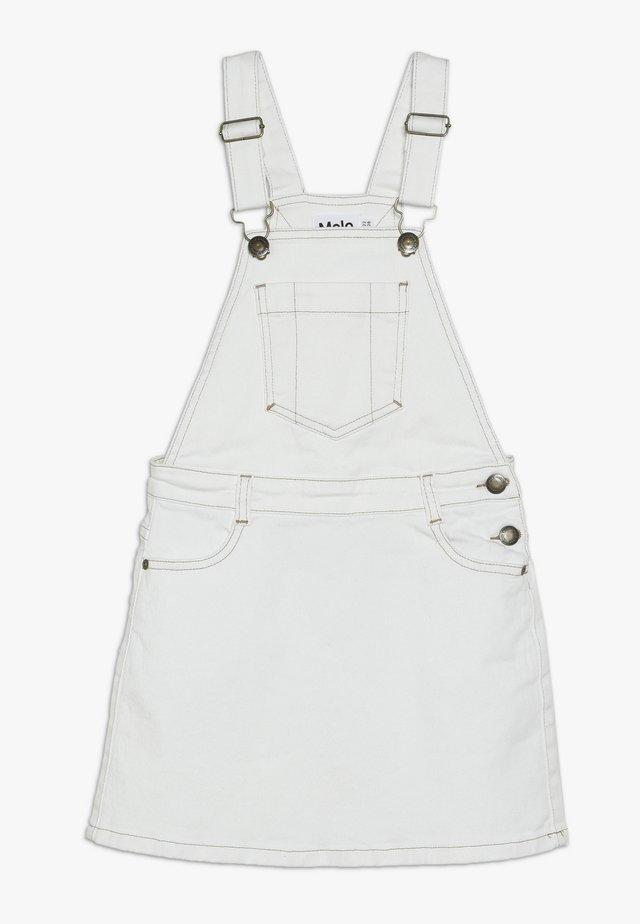 CAROLYN - Denimová sukně - white star