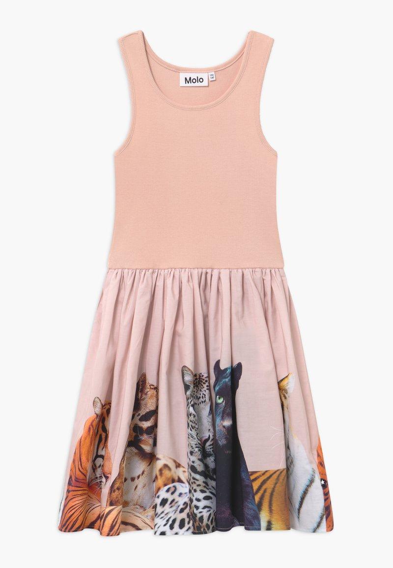 Molo - CASSANDRA - Jersey dress - light pink/multi-coloured