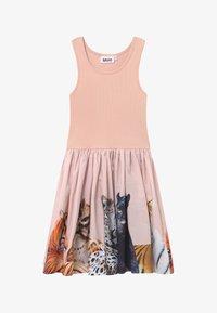 Molo - CASSANDRA - Jersey dress - light pink/multi-coloured - 2