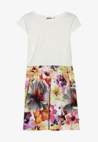 Molo - CARLA  - Žerzejové šaty - white/multi-coloured - 2