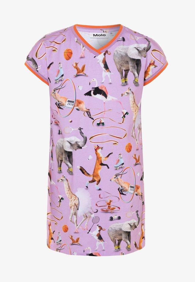 CALIFORNIA - Sukienka z dżerseju - lilac