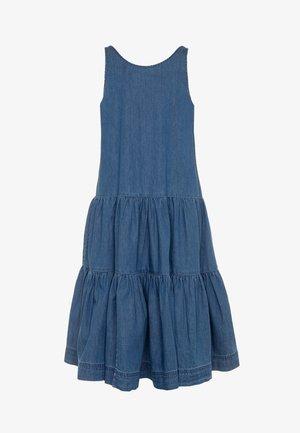 CAI - Jeanskjole / cowboykjoler - washed indigo