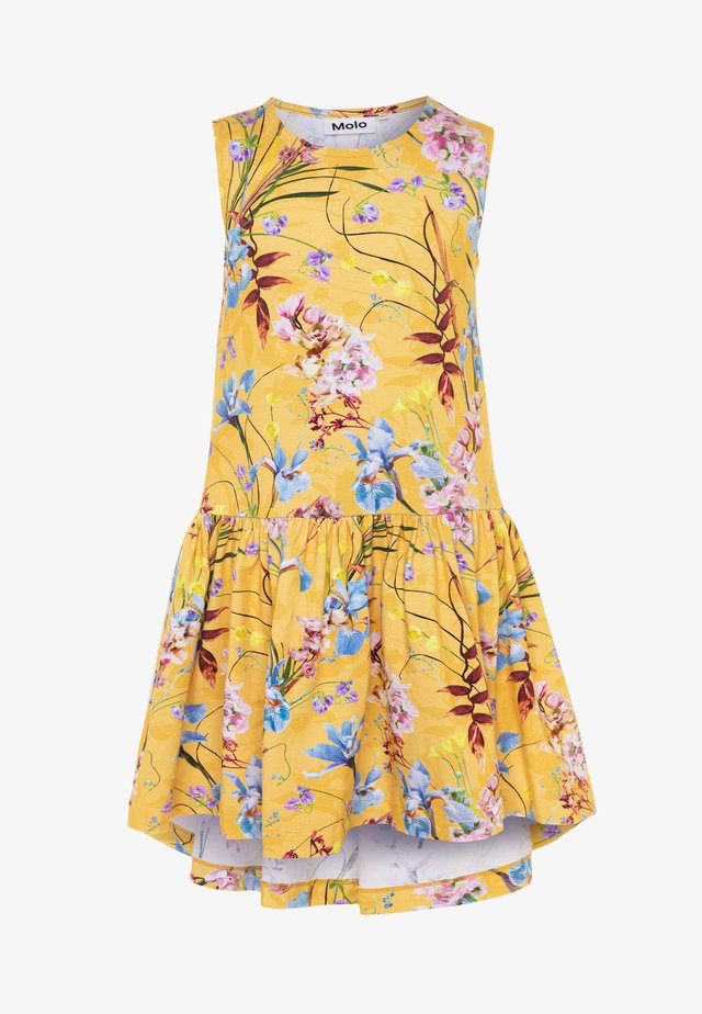 CANDECE - Jersey dress - yellow