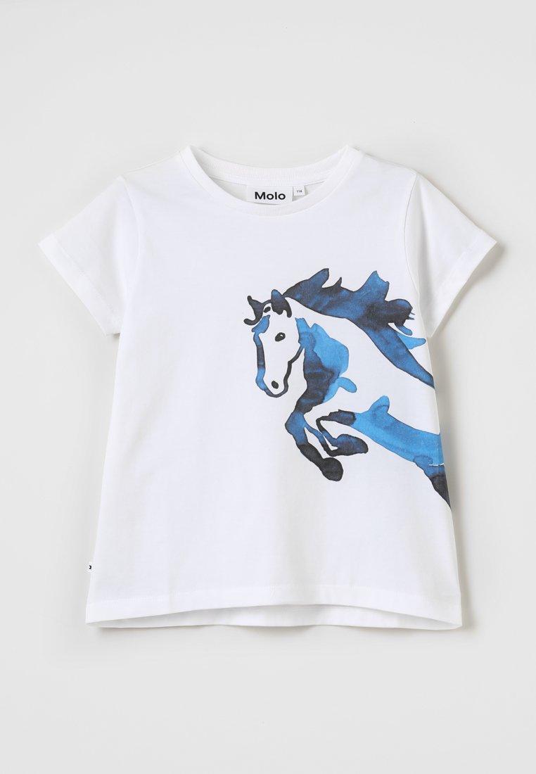 Molo - RUSALKA - Triko spotiskem - water colour horse