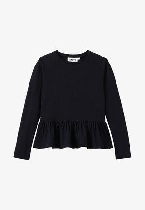 RENATA - Camiseta de manga larga - black