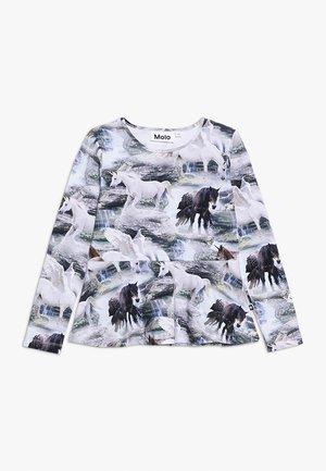 ROSALIND - Top sdlouhým rukávem - mottled grey