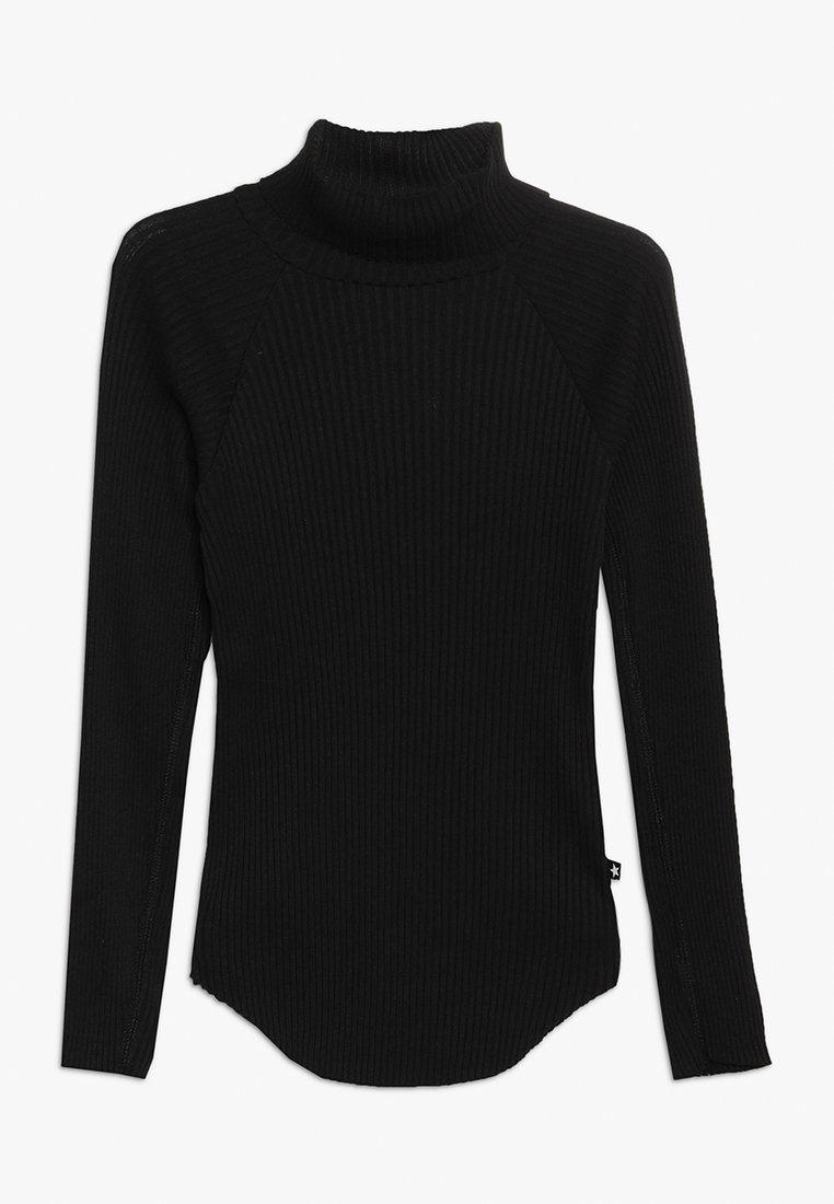 Molo - ROMAINE - Langærmede T-shirts - black