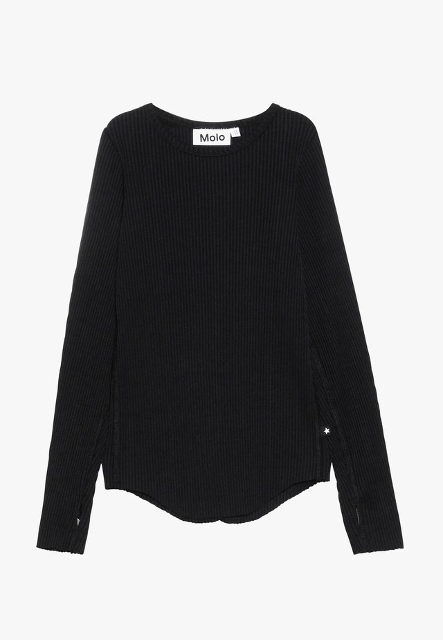 ROCHELLE - Long sleeved top - black