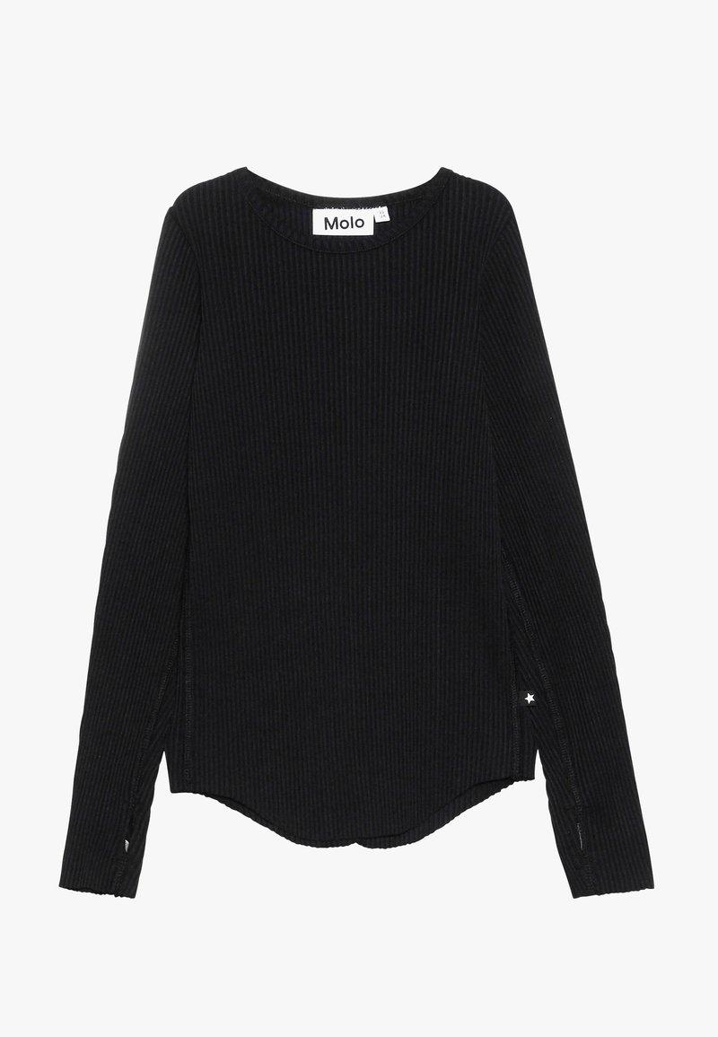 Molo - ROCHELLE - Langærmede T-shirts - black