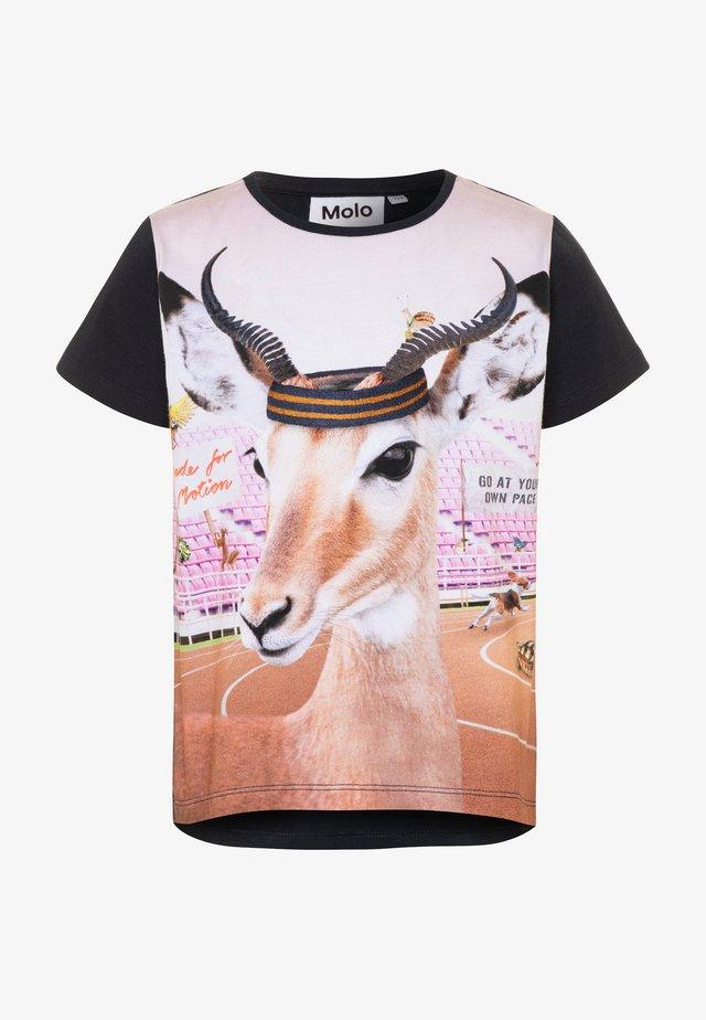 RISHA - Camiseta estampada - multicolor
