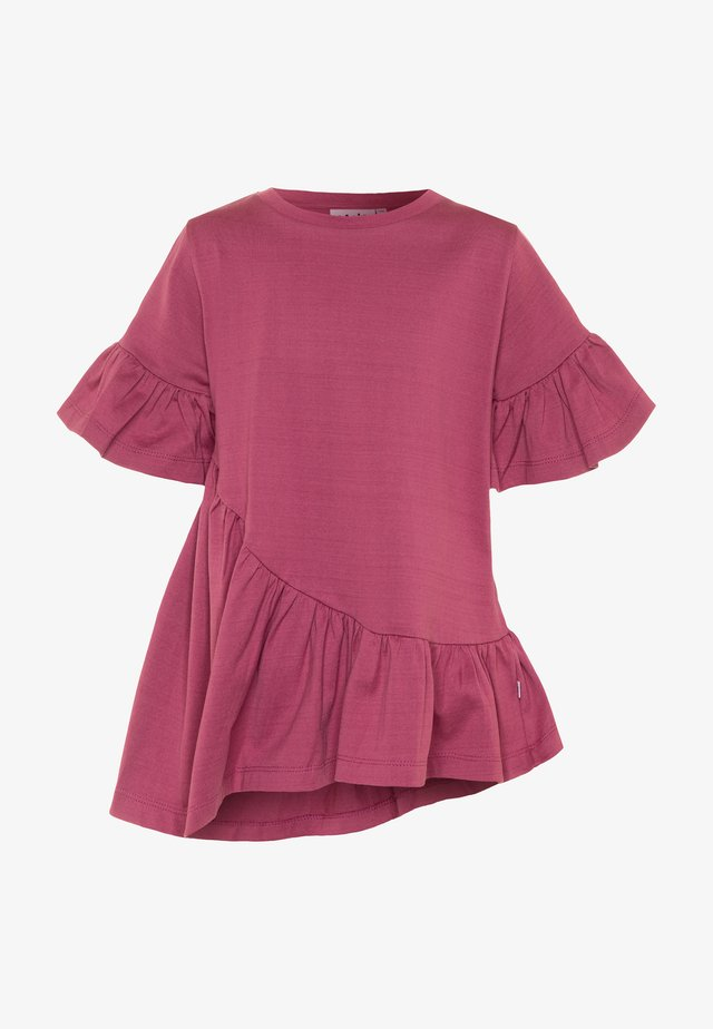 RATJA - T-shirt med print - raspberry jam