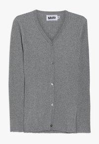 Molo - GENIE - Strikjakke /Cardigans - grey melange - 0