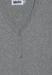 Molo - GENIE - Strikjakke /Cardigans - grey melange - 3