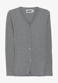 Molo - GENIE - Strikjakke /Cardigans - grey melange - 2