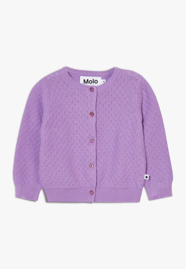 GINNY - Cardigan - manga purple