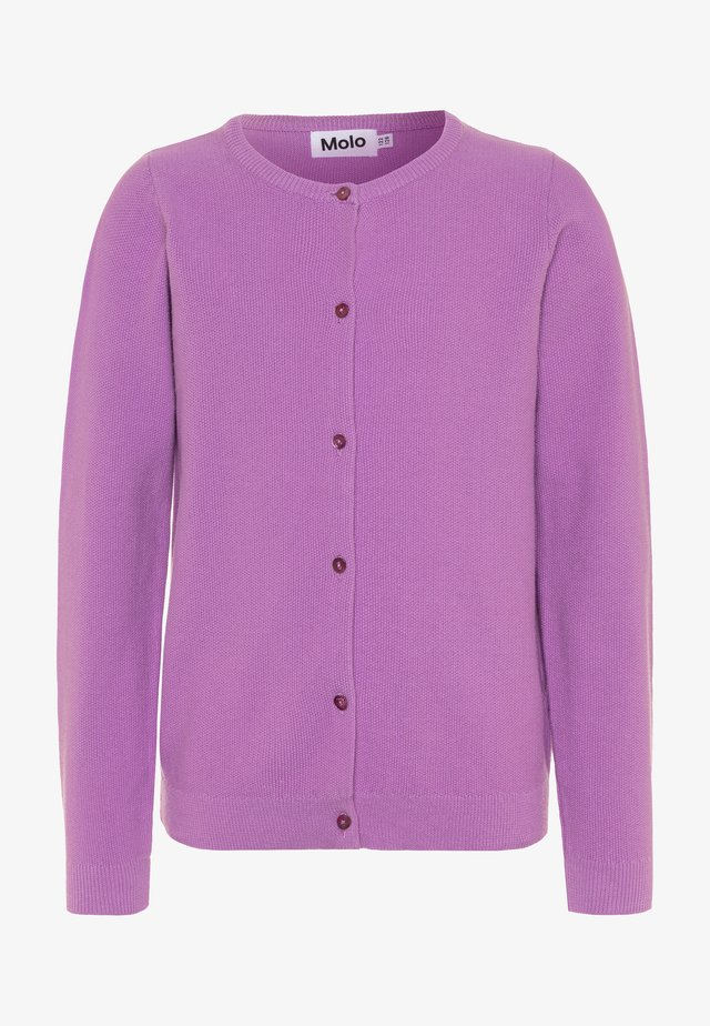 GEORGINA - Strikjakke /Cardigans - manga purple