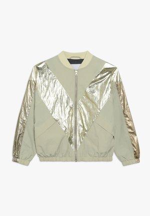 HELSA - Bomber bunda - beige/gold