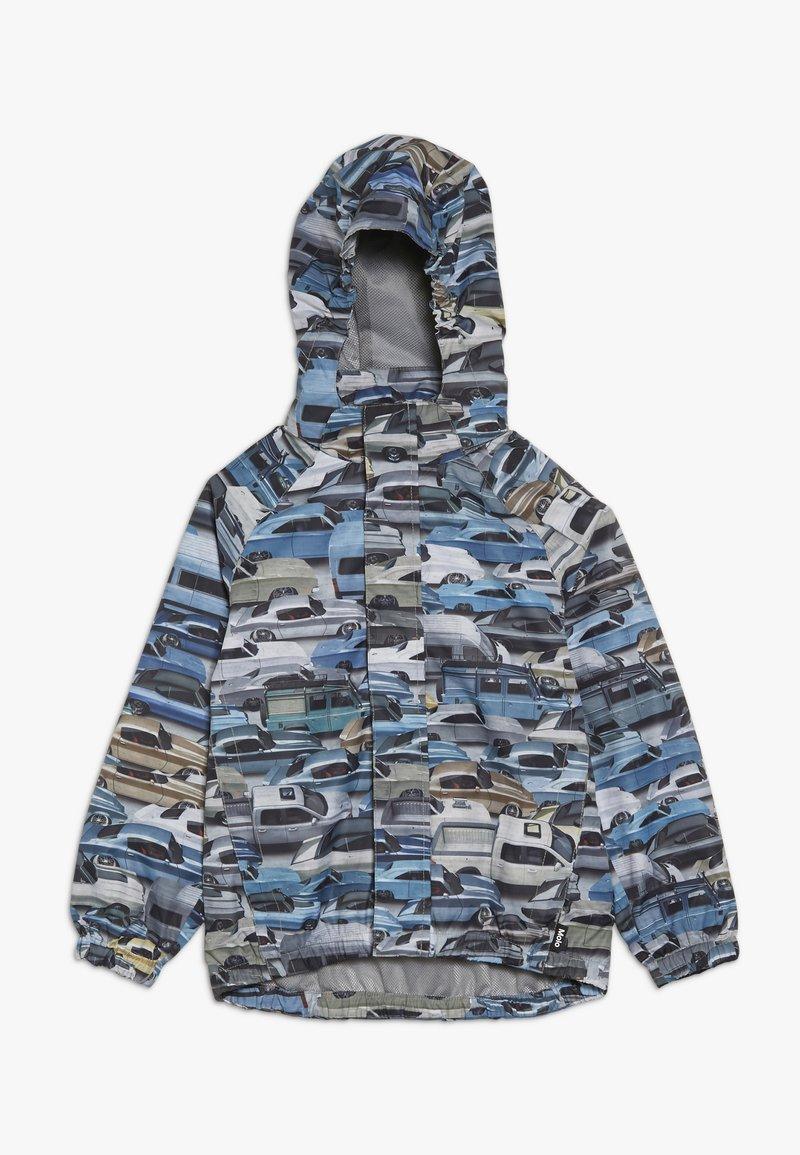 Molo - WAITON - Waterproof jacket - blue/grey