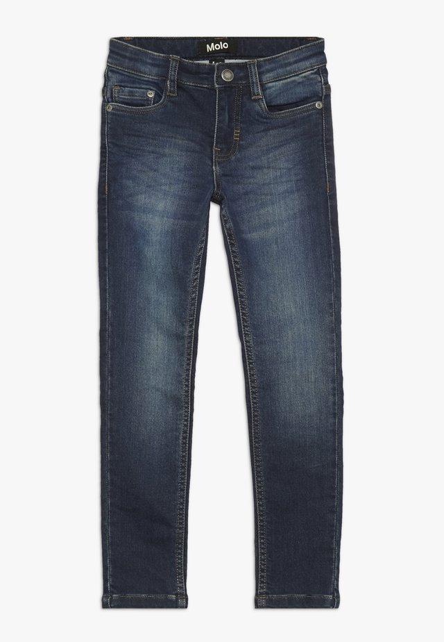AKSEL - Slim fit jeans - dark indigo