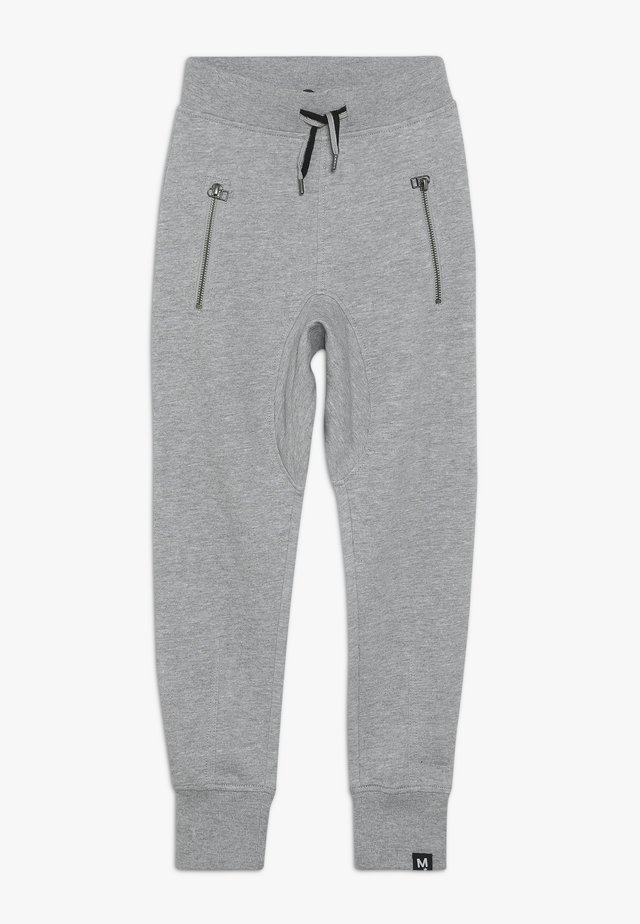 ASHTON - Tracksuit bottoms - grey melange