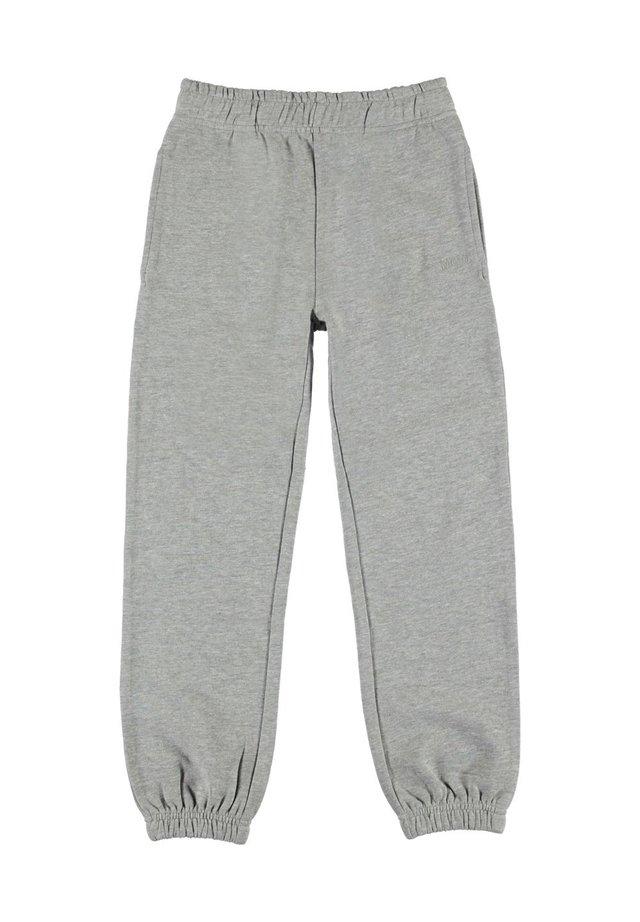 AM - Træningsbukser - grey melange