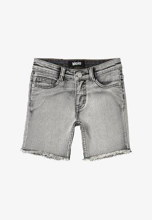 ALONS - Short en jean - grey washed denim