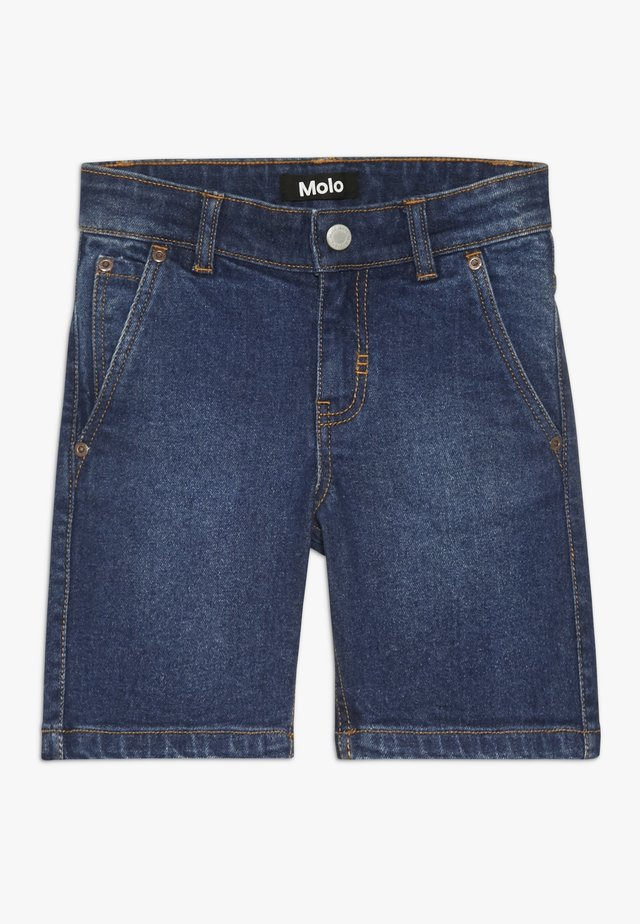 ASSER - Shorts di jeans - rinse wash