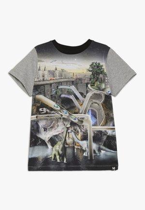 RADDIX - T-shirt imprimé - multi-coloured/grey