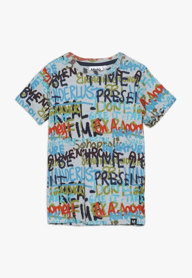 RAYMONT - Print T-shirt - grey