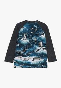 Molo - REMINGTON - Pitkähihainen paita - blue/mottled dark grey - 1