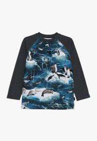 Molo - REMINGTON - Pitkähihainen paita - blue/mottled dark grey - 0